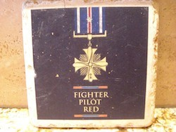 Trivet - Fighter Pilot Red