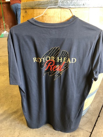Rotor Head Red T-Shirt Male