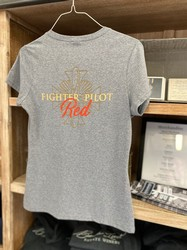 Fighter Pilot Red T-Shirt Female