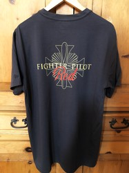 Fighter Pilot Red T-Shirt Male