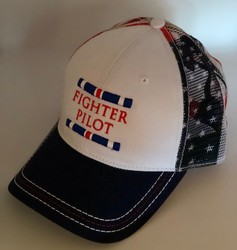 Flag Fighter Pilot Hat